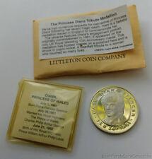 Litteton Coin Princess Diana Tribute Medallion Coin