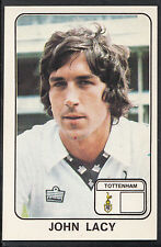 Panini football 1979 sticker-nº 335-john lacy-tottenham
