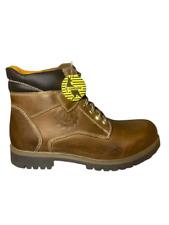 Scarponcino CANGURO Boots UOMO Modello Timberland Cuoio Vera Pelle Inverno
