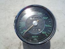 PORSCHE 356C 356 C CARRERA 4CAM 4 CAM VDO GAUGE SPEEDO SPEEDOMETER 160 MPH