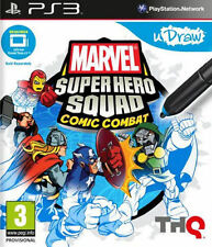 PS3 Marvel Super Hero Squad Comic Combat (uDraw required) NEW & SEALED UK STOCK