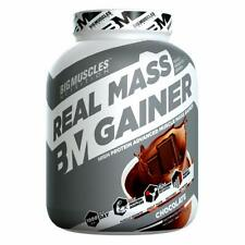 Bigmuscles Nutrition Real Mass Gainer [3Kg, Chocolate]