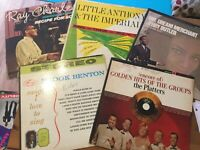 Classic R&B-Soul LP Lot: Platters/ Little Anthony/ Ray Charles/ Jerry Butler..