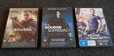 ☆☆—The Bourne Trilogy: Identity / Supremacy / Ultimatum (3-Disc DVD) Region 4—R4