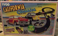 TYCO CALIFORNIA CLASSICS HO SLOT CAR SET #6670. COMPLETE!