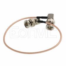 Camera Video SDI Video Cable BNC Right Angle RG179  Blackmagic Hyperdeck SmallHD