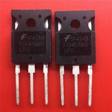 5pcs   FGH60N60UFD 600V,60A, 1.8V, Low VCE(ON) Field Stop IGBT TO-247