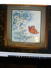 Vintage Home Interior Daisy And Butterfly Pic