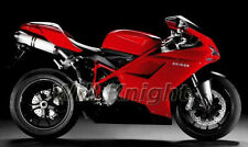 Red Black Fairing Body Kit for Ducati 848 1098 1198 2007 2008 2009 2010 2011