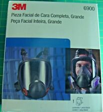 New Listing3m Full Face Piece Respirator 6900 Large