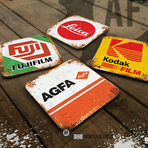 Photography Coaster Collection. Wooden Gloss Drinks/Table Protectoin Film 35mm