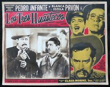 LOS TRES HUASTECOS PEDRO INFANTE LOBBY CARD PHOTO Mantequilla 1948 VINTAGE