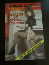 Centurian Spartacus Catalog Leather Books Videos Bizarre Comic Fetish (C)