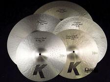 Zildjian KCD900 K Custom Dark 5 Cymbal Pack Set