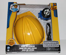 NIB BRAND NEW JUST LIKE HOME HELMET With HEADLAMP