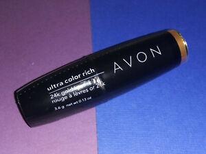 AVON Ultra Color Rich 24k Gold Lipstick NATURAL GOLD (K102) ~ NOS SEALED