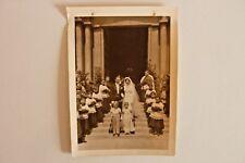 Photo année 50 mariage sortie d'église Photographe  NICE   223/01