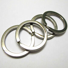 10pcs Metal Key Holder Split Rings High Quality 25mm