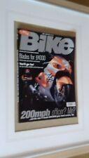 Bike Magazine April 1999 Suzuki GSX1300R Review Frame it Man Cave Hayabusa