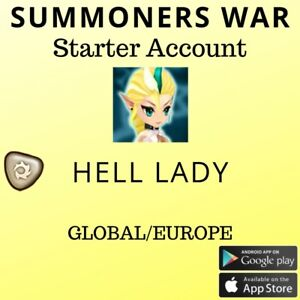 Summoners War Light Hell Lady Asima Starter Account