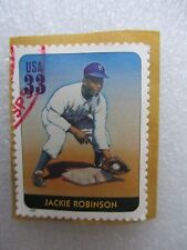 STAMP, JACKIE ROBINSON, BROOKLYN DODGERS, 33 CENTS, RARE