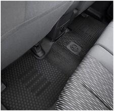 Rubber Floor mats Rear Colorado RG Genuine 2012-2018 Crew & Space Cab