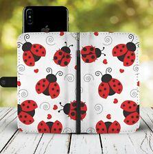 Ladybug Phone Wallet Case Lady Bug Gift Idea For iPhone Samsung Huawei Xiaomi