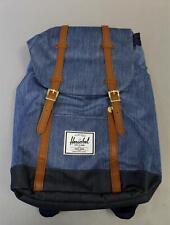 Herschel Supply Co. Men's Retreat Backpack MC7 Faded Indigo Denim 10066-02730