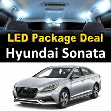 8x White LED Lights Interior Package Deal For 2011 2012 2013 2014 Hyundai Sonata