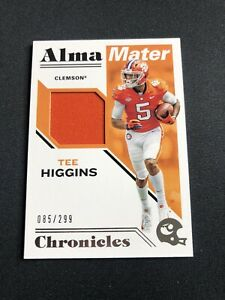 2020 Panini Chronicles DP Tee Higgins RC Alma Maters Patch #085/299