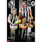 AFL - Collingwood Magpies Players POSTER 61x91cm NEW * Football Footy Treloar