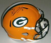 PACKERS Mason Crosby signed full size Speed Rep helmet JSA COA AUTO Autographed