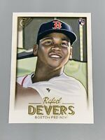 Rafael Devers 2018 Topps Gallery Rookie RC #127 Boston Red Sox