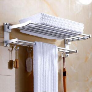 "2-Tier Bathroom Shower Shelf Corner Toilet Organizer Bath Caddy Rack Storage 24"""