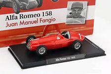 Juan manuel fangio Alfa Romeo 158 #1 fórmula 1 1950 1:43 Altaya