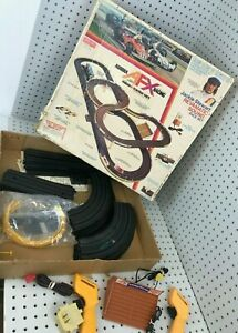 AFX HO Slot Car Set Jackie Stewart Revmatic Sound Race Aurora Incomplete Vintage