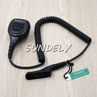 Handheld Shoulder Speaker Mic For Midland Radio Walkie Talkie T51 T55 T61 T65