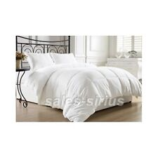 White Bed Comforter Queen Full Size Alternative Goose Down Feather Luxury Warm