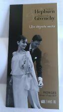 Audrey Hepburn Hubert de Givenchy flyer Switzerland 2017