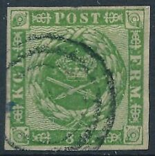 [37482] Denmark 1858/63 Good classical stamp Very Fine used V:$165