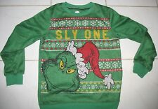 """The Grinch Dr. Seuss - Jr. Large - 100% Poly Long Sleeve Pullover Top """"Sly One """""""