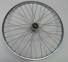 Vintage Sturmey Archer Three Speed AW Rear Wheel 88-10 26 x 1 3/8 Steel Rim