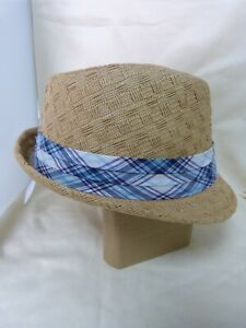 """Trilby Classic with check band 'Maz"""""""