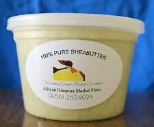 AUTHENTIC AFRICAN  RAW IVORY SHEA BUTTER (16oz)