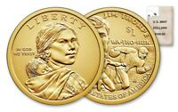 2018 P&D SACAGAWEA NATIVE AMERICAN Dollar U.S. Mint Coins Jim Thorpe Collectable