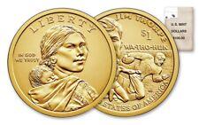 2018 P&D SACAGAWEA NATIVE AMERICAN Dollar U.S. Mint Coins Jim Thorpe Collectable