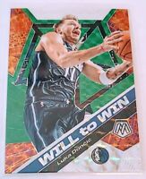 2019-20 Panini Mosaic Luka Doncic Will To Win Silver Prizm PSA BGS Ready