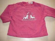 Smile tolles Sweatshirt Gr. 68 rosa mit Seehundmotiven !!