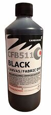 Black roof hood  canvas shoe  dye / reviver , restores colour to fabrics. 250 ml