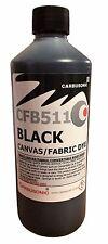 TETTO NERO CAPPUCCIO Tela Scarpa Dye / restauratore, ripristina colore per tessuti. 250 ml